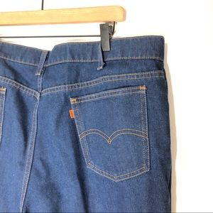 Vintage Levi's high waisted orange tab made in USA